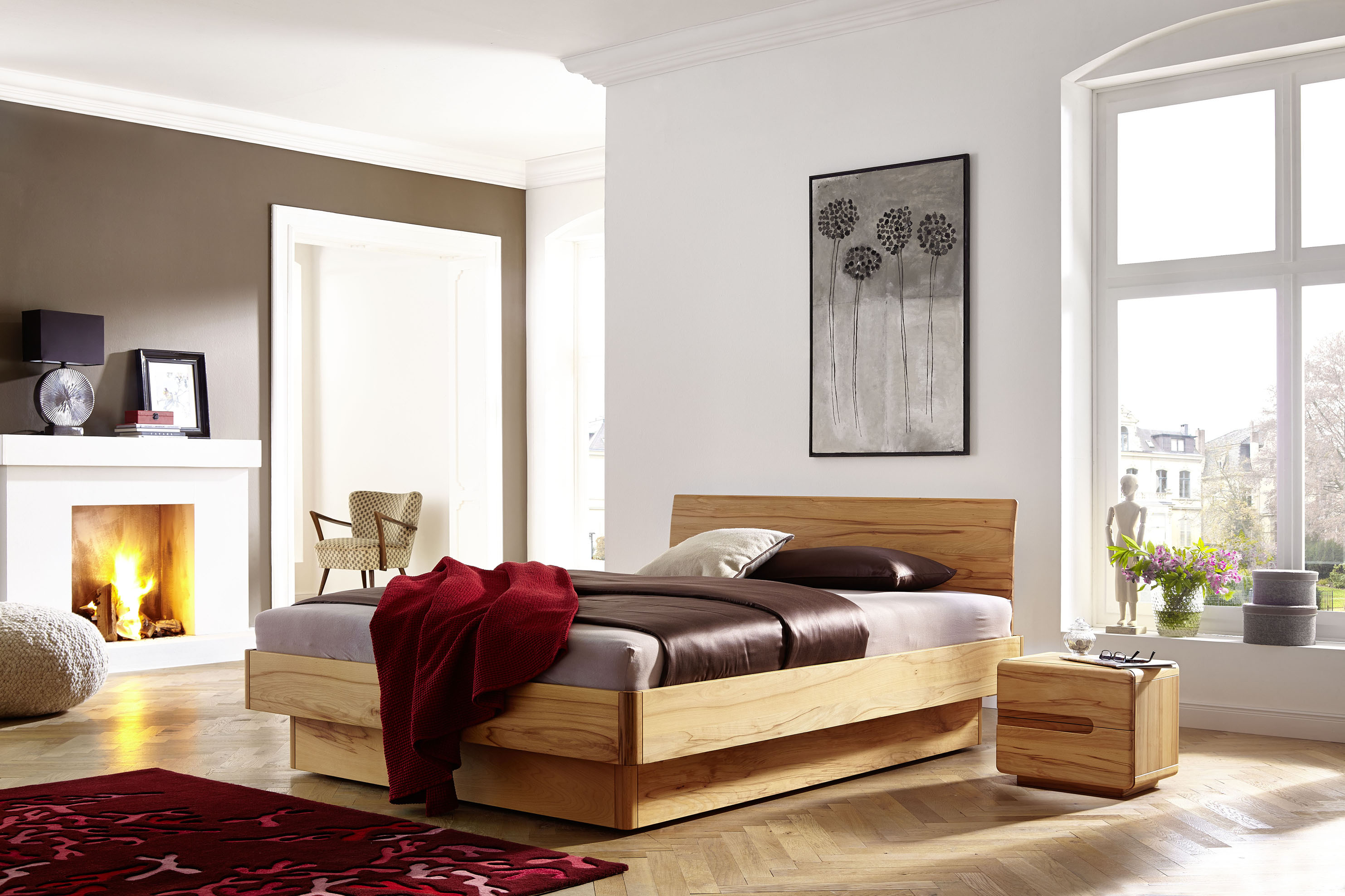 bett mit bettkasten stauraumbett man betten leipzig. Black Bedroom Furniture Sets. Home Design Ideas