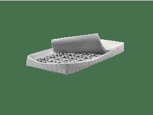 Matratze inklusiv Lattenrost
